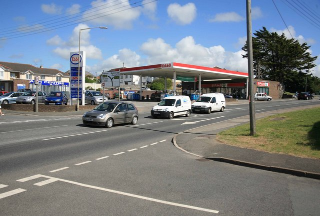 Petrol Station at Bude