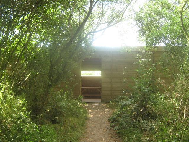 David Feast Hide in Stodmarsh Nature Reserve