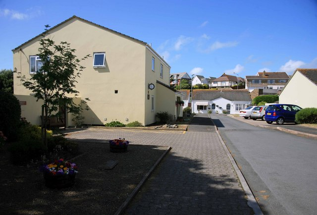 Bude Bulleid way  once the railway station