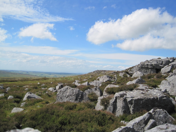 Peas Crag and Wallace's Crags