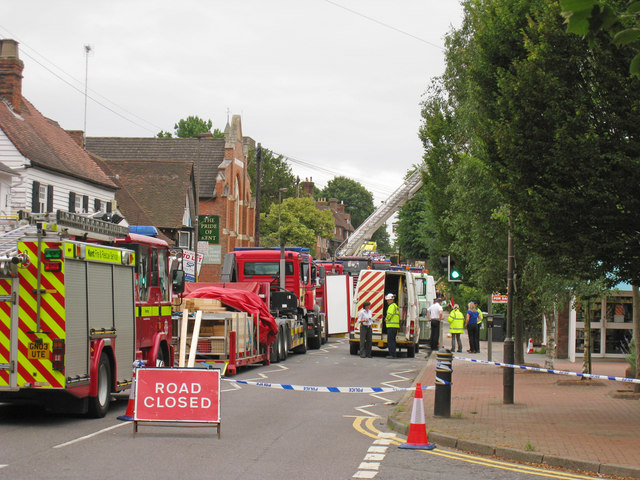 Emergency Services on High Street