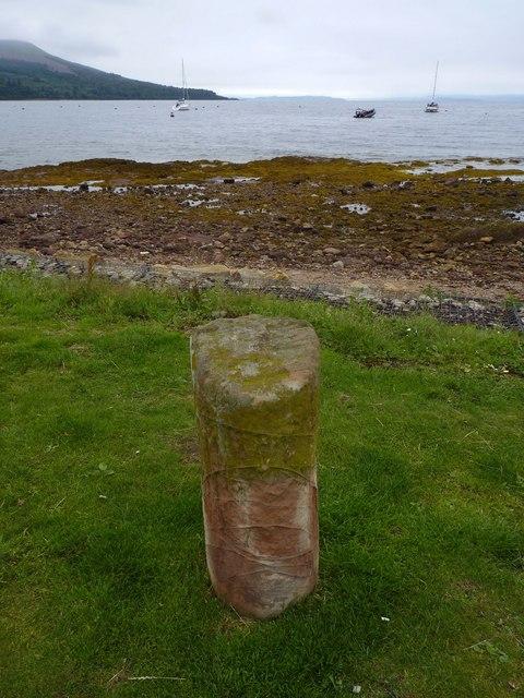 Milestone 3, Brodick, Isle of Arran