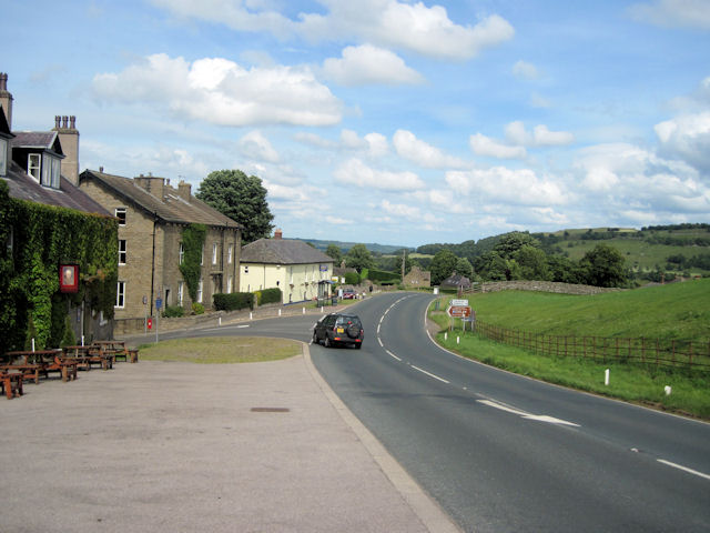 A684 through Aysgarth