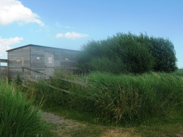Harrison's Drove Hide in Stodmarsh Nature Reserve