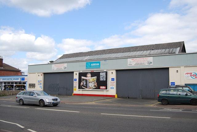 Arriva Bus Depot, St John's Rd