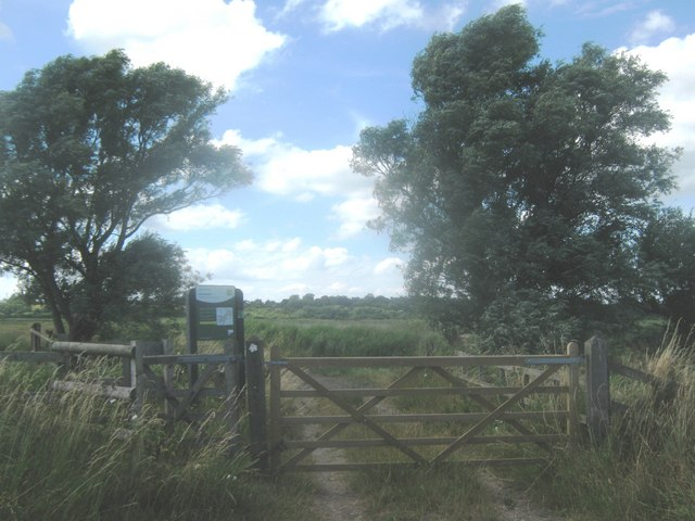 Entrance to Stodmarsh Nature Reserve