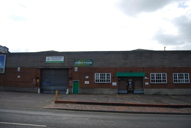 Dairy Crest Dairy, St John's Rd