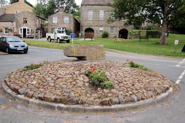 Centre of village sign