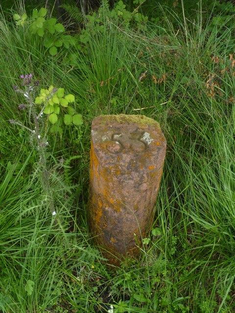 Milestone 53, Rubha Salach, Isle of Arran