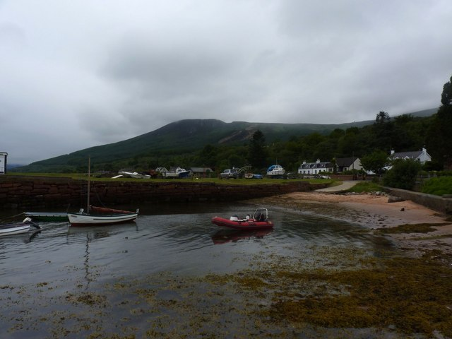 Corrie village from the Quay, Isle of Arran