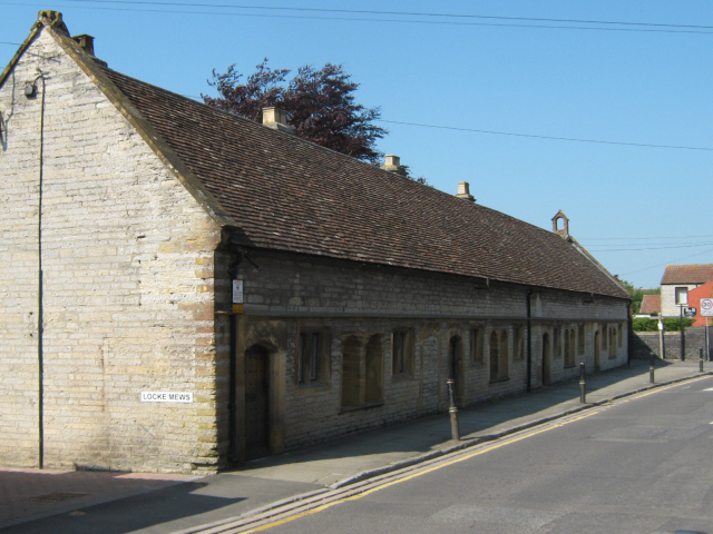 The Hext Almshouses, West Street, Somerton