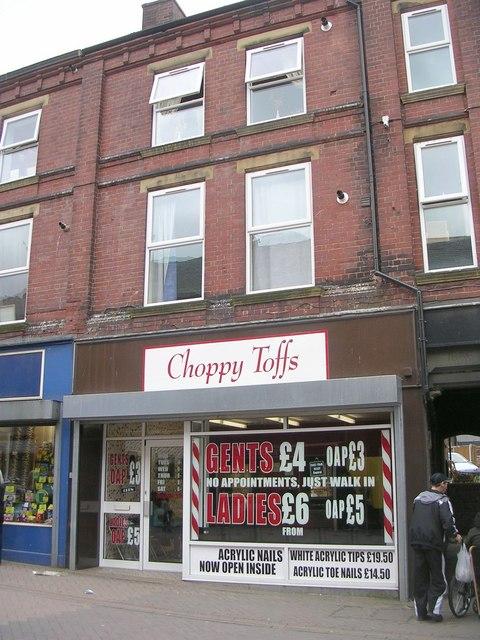 Choppy Toffs Barbers - High Street
