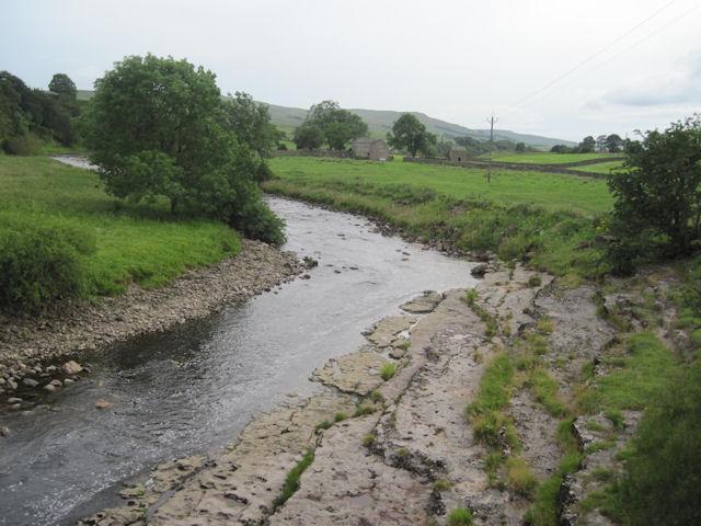 River Ure at Yorebridge