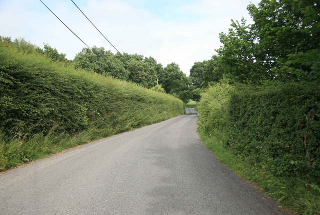 Country lane nr Bow