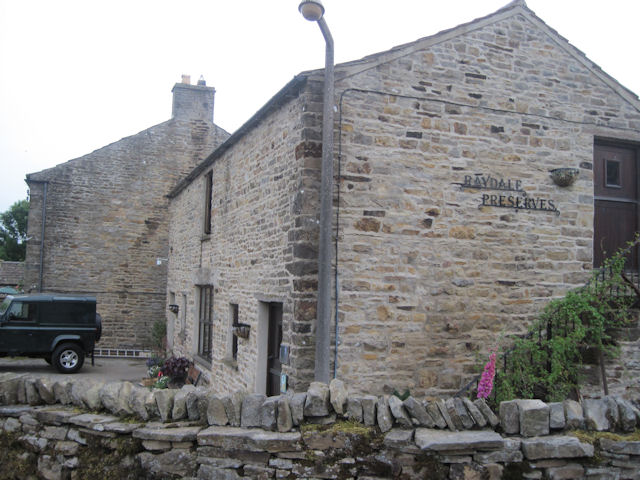 Raydale Preserves and tea room  Stalling Busk