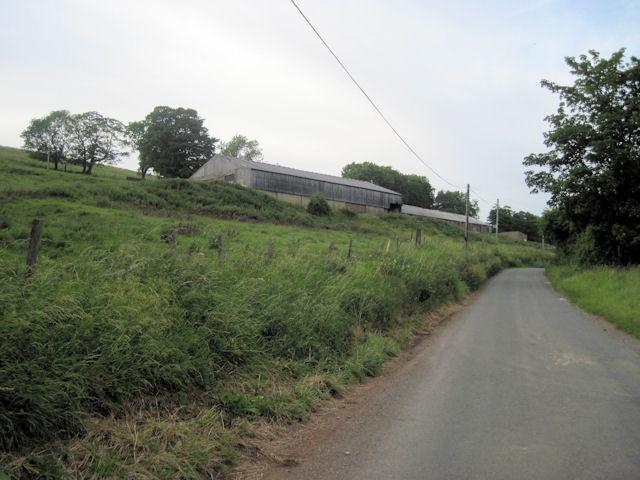 Barns near Holly House