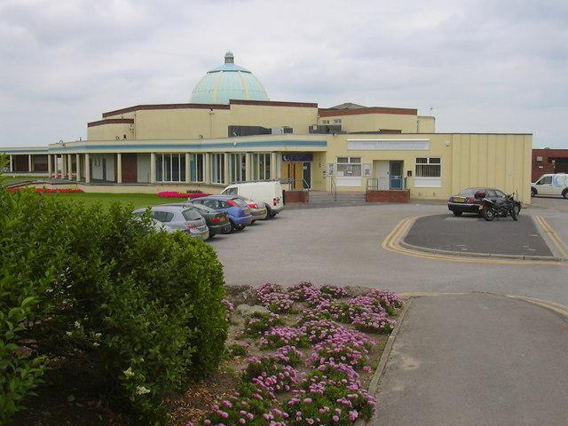 Marine Hall, Fleetwood, Lancashire