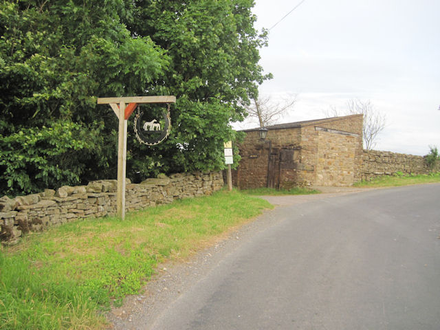 Entrance to Gill Edge Farm