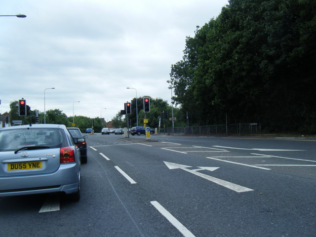 A533/A534 junction