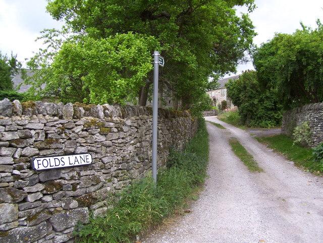 Folds Lane at Calver