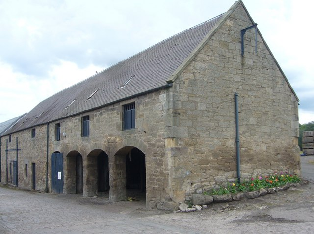 19thC steading, Carberry estate