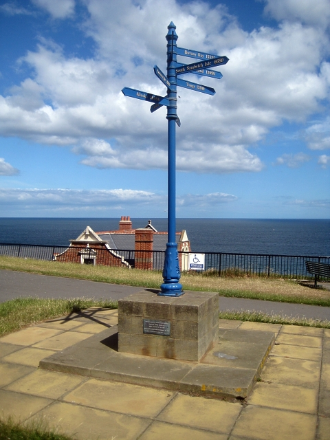 North Terrace, nautical signpost (1)