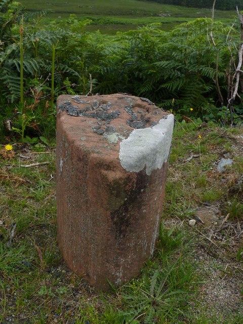 Milestone 48, North Glen Sannox, Isle of Arran