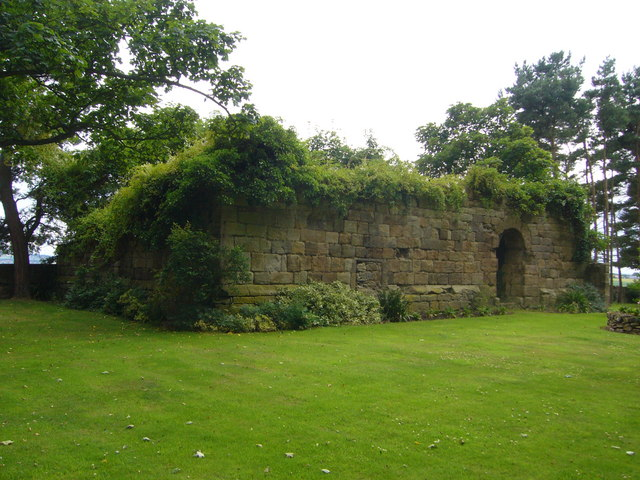 Remains of Elphinstone Tower