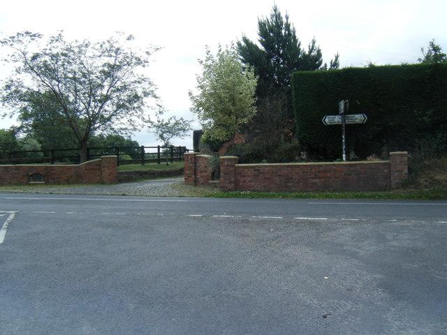 Mill Lane/Alsager Road junction