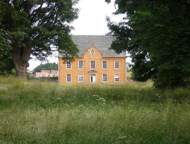 Colonel Gardiner's house (Bankton) from his monument