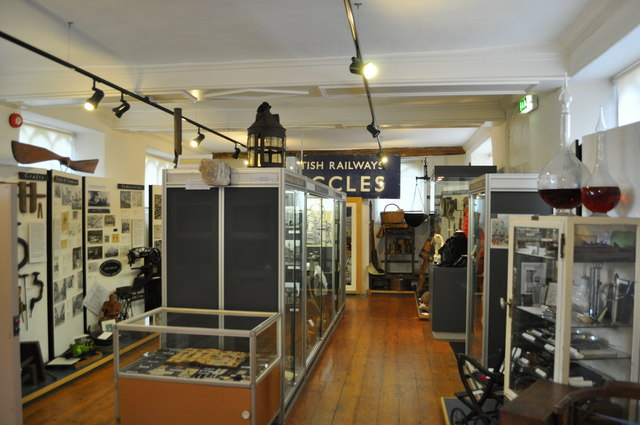 Inside Beccles Museum