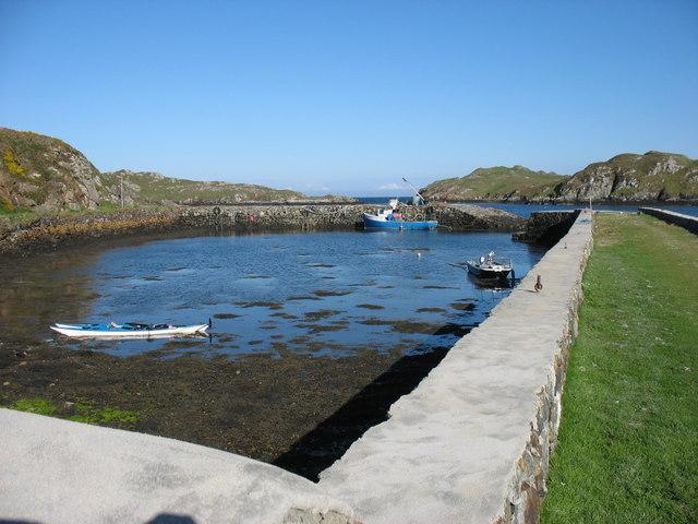 Rodel harbour