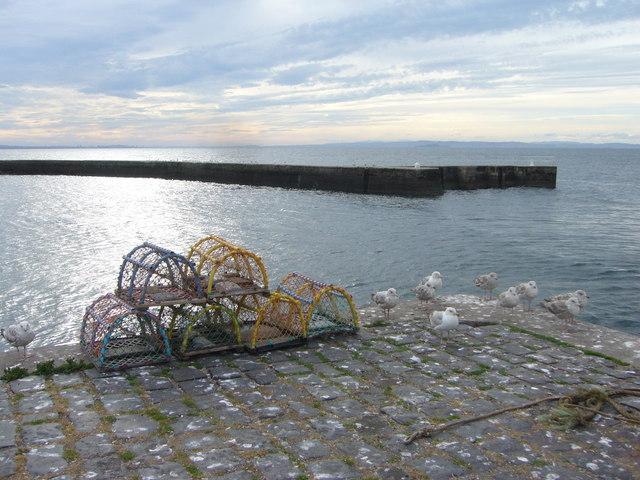Port Seton quay and breakwater