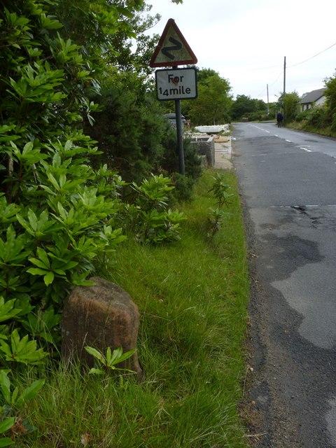 Milestone 44, Lochranza Field Centre, Isle of Arran
