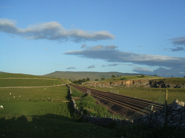 Settle to Carlisle line near Kirkby Stephen station