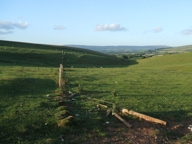 Highmore Hill and the coast to coast path