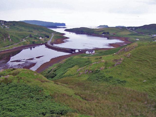 Loch Beag from Dùn Garsin