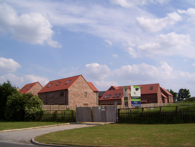 New housing by Haugh Road