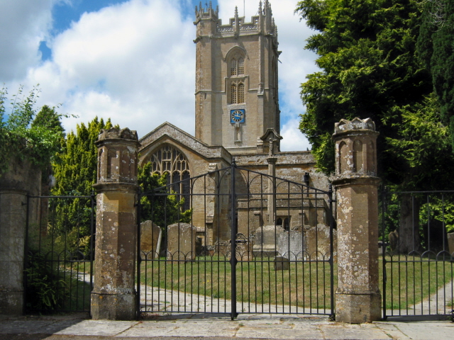 The parish church, Hinton St George