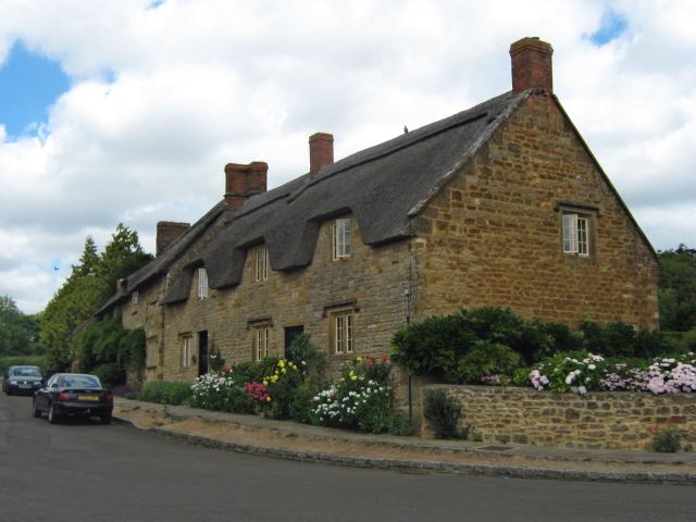 Hamstone houses, Church Street, Hinton St Gearge