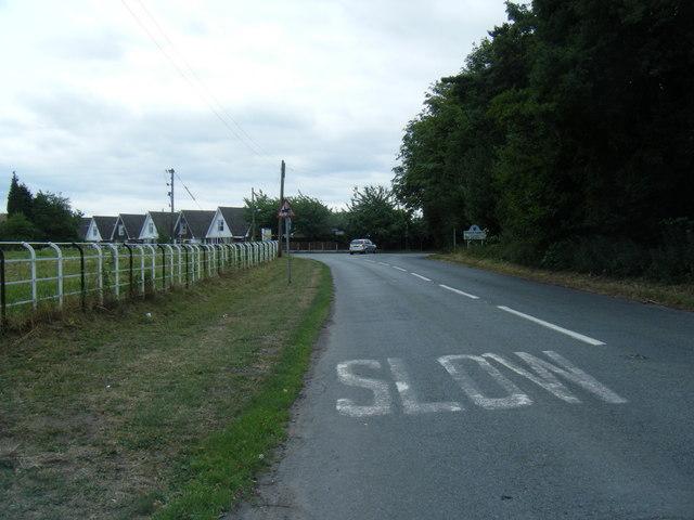B5078 at Lawton Heath End
