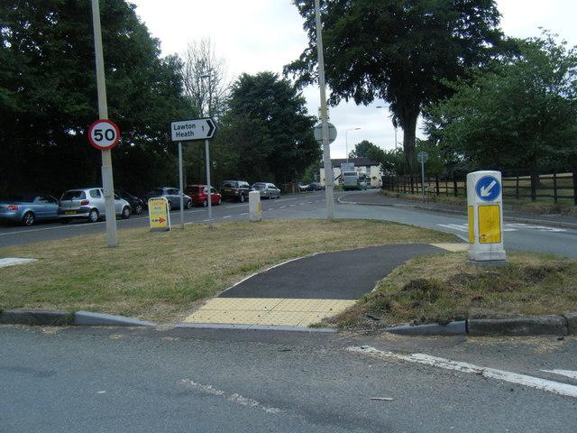 A50 Knutsford Road/Sandbach Road junction