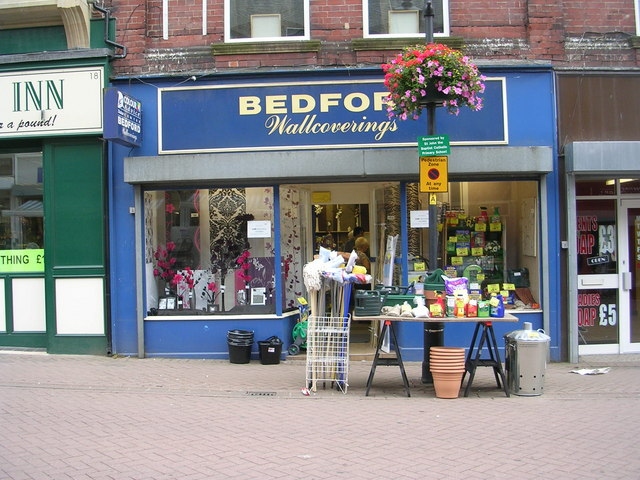 Bedford Wallcoverings - High Street