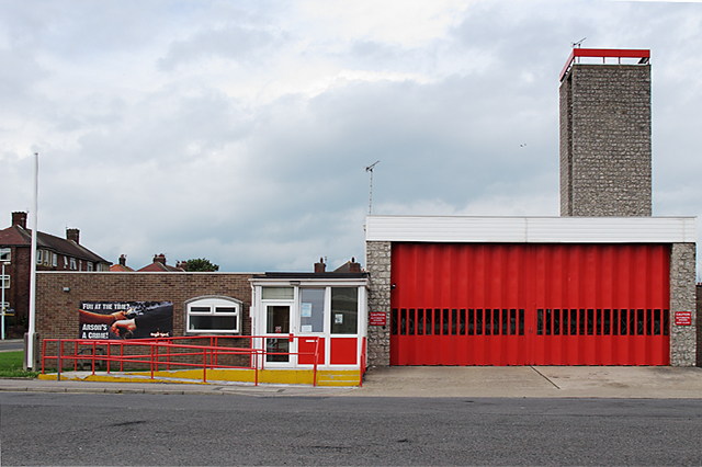 Bispham Fire Station, Red Bank Road, Bispham