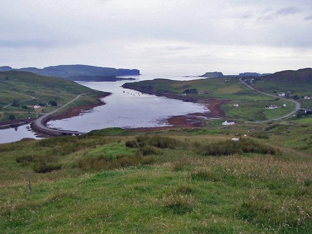 Loch Beag from Knock Garsin