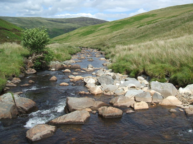An easy crossing of the River Caldew