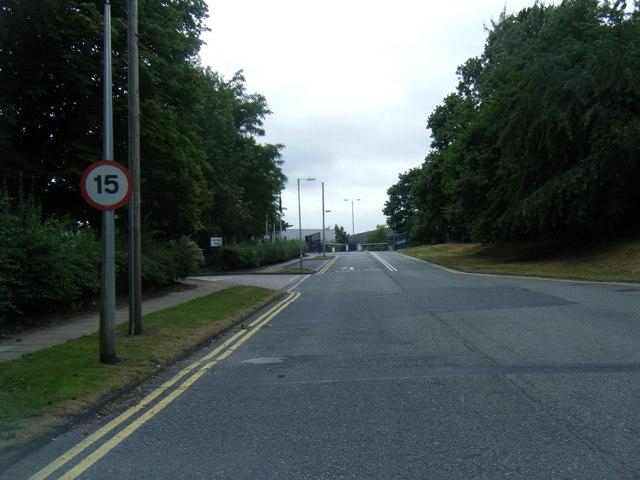 Entrance to Twyford plant