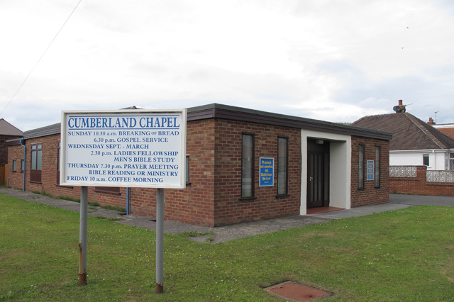 Cumberland Chapel, Cumberland Ave, Cleveleys