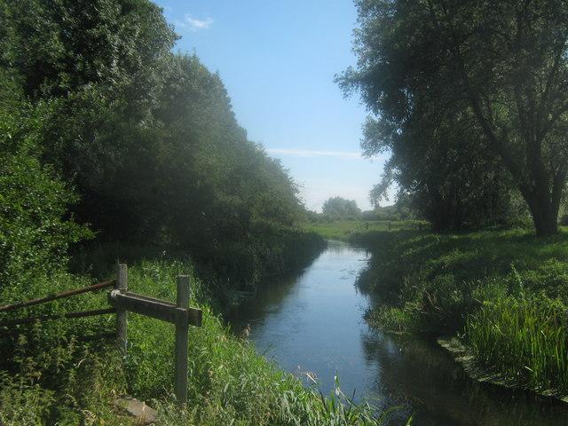 River Little Stour beside Wenderton Hoath