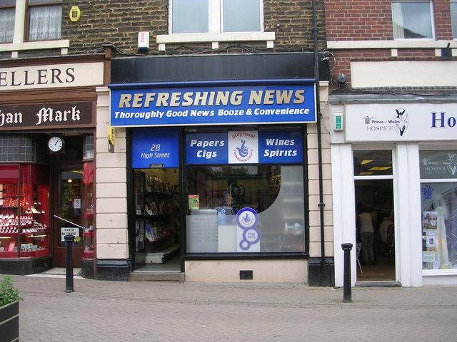 Refreshing News - High Street